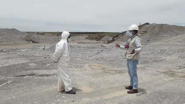 Inician proceso de fiscalización en la concesión minera en Quiulacocha