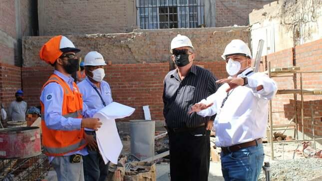 Autoridad Regional de trabajo supervisa y monitorea los avances de ejecución del nuevo Centro de Empleo Ica