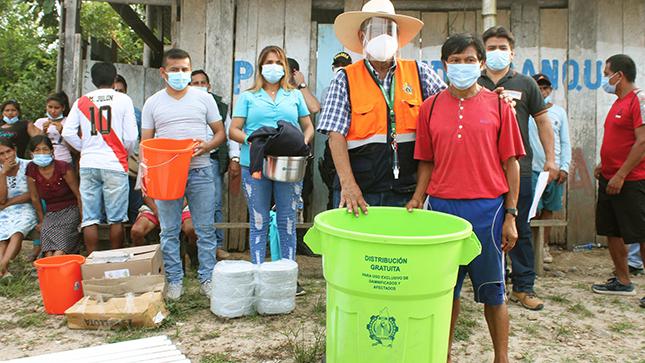 GOREA asiste a familias damnificadas y prevé acciones frente al impacto de daños a consecuencia de las intensas lluvias