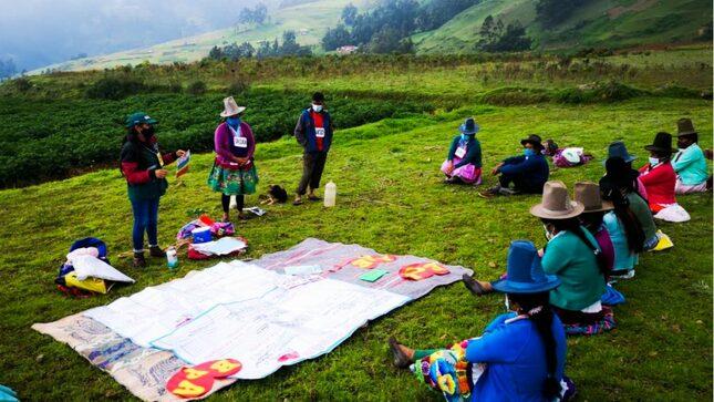 Áncash: Fortalecen agricultura familiar con Escuelas de Campo