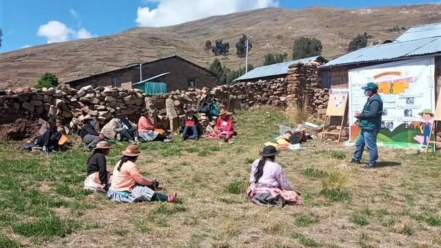Escuelas de Campo mejorarán capacidad productiva de agricultura familiar en Huancavelica