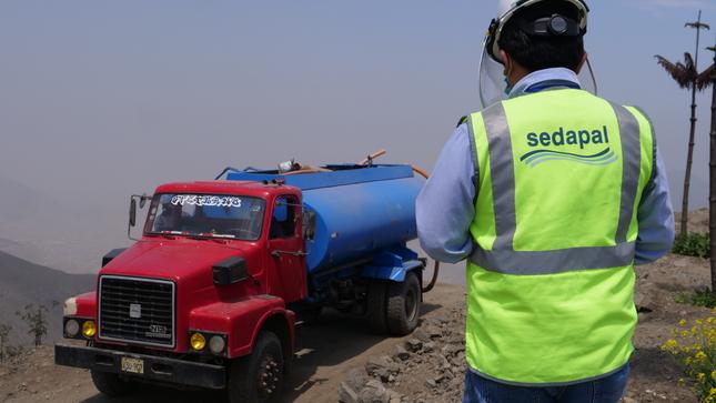 Hasta enero Sedapal entregó casi cuatro mil millones de litros de agua potable gratuita a poblaciones vulnerables de Lima y Callao
