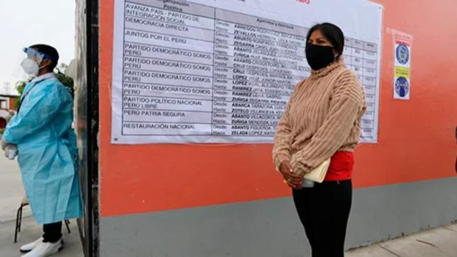 ONPE aumentó locales de votación para evitar aglomeraciones