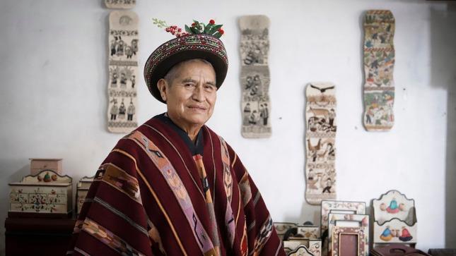 Primitivo Evanán Poma es nombrado como Personalidad Meritoria de la Cultura