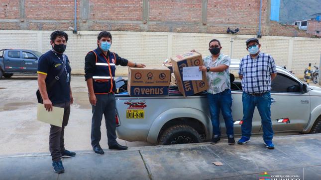 Huánuco: ENTREGAN HERRAMIENTAS PARA REHABILITAR VÍAS AFECTADAS POR LLUVIAS INTENSAS EN SINGA