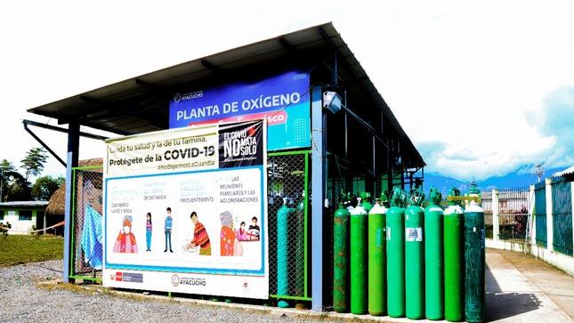 Ayacucho: Planta de oxígeno medicinal San Francisco-Vraem continúa atendiendo a 41 establecimientos de salud