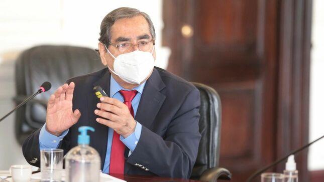 Ministro Ugarte: No existen trabas burocráticas para la importación de concentradores de oxígeno