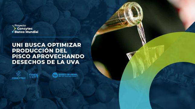 UNI busca optimizar producción del pisco aprovechando desechos de la uva