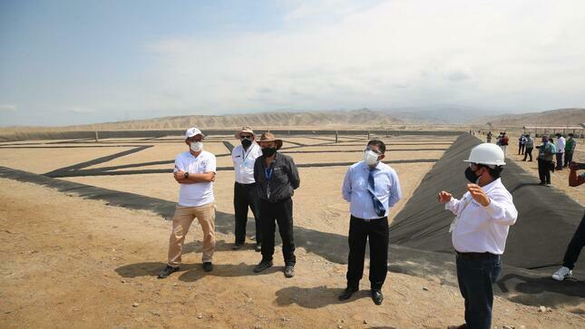 Ica: ministro del Ambiente inaugura relleno sanitario en la provincia de Chincha