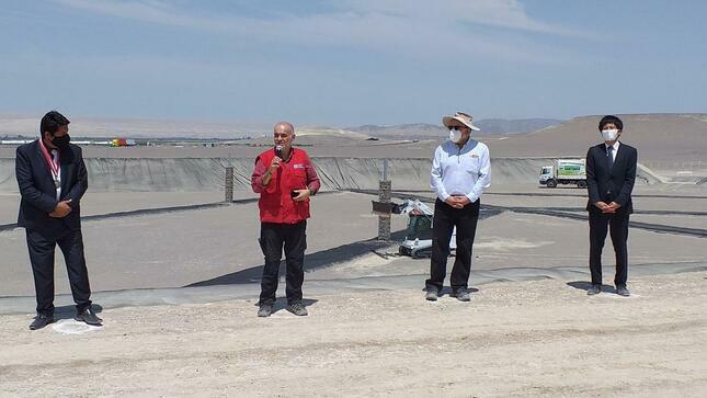 Ica: ministro Gabriel Quijandría inaugura relleno sanitario y planta de valorización de residuos sólidos en distrito de Santiago