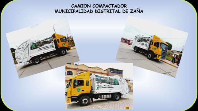 Adquisición de un Camión Compactador Nuevo para el Distrito de Zaña
