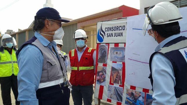 3.5 kilómetros del colector Canto Grande ya se encuentran operativos