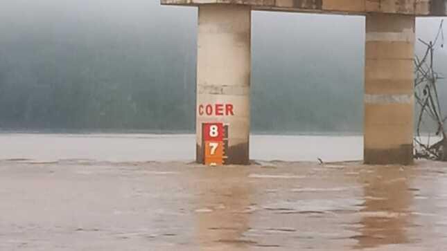 Niveles de ríos en Madre de Dios siguen con tendencia a la baja