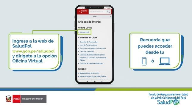 SaludPol presenta su oficina virtual