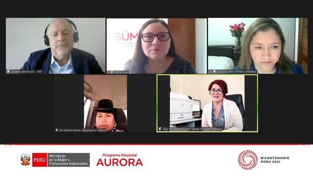 """Programa Nacional Aurora participó en el lanzamiento de la Plataforma Digital """"ELSA"""""""
