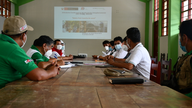 Unificando criterios técnicos para el cultivo de cacao en el VRAEM