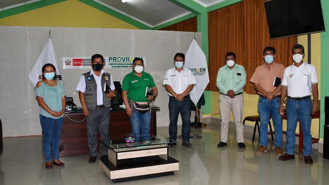 PROVRAEM participa en la reunión de coordinación para el acceso a financiamiento de los fondos de Agroperu a través de Agrobanco