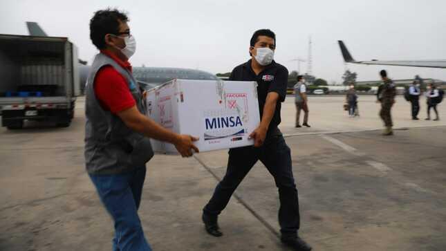 Minsa distribuye 21 139 dosis de vacunas contra la COVID-19 adicionales en Lima y regiones