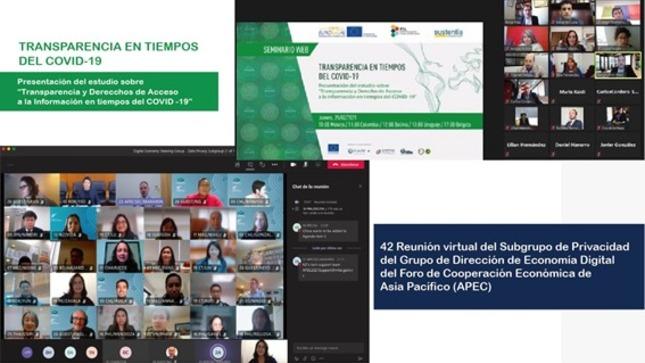 ANTAIP y ANPD participaron en eventos internacionales sobre transparencia  y protección de datos en tiempos de COVID-19