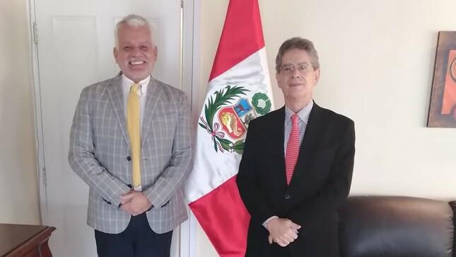 Visitas de cortesía con representantes de Turquía, Estados Unidos, Brasil, Cuba y Granada