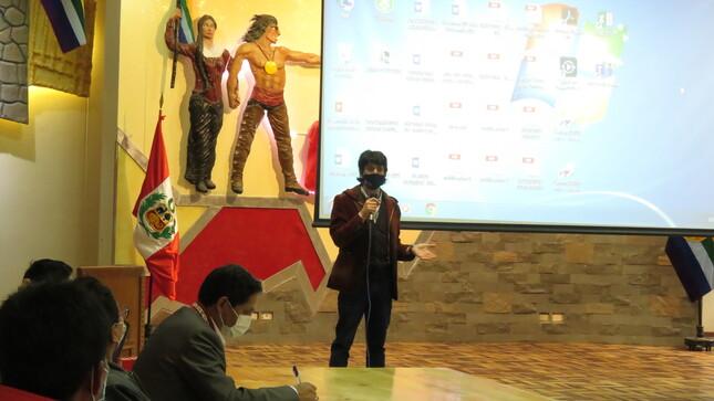 Emprendedores de la Provincia de Canas participaron en charla ofrecida por la Gerencia Regional de Producción.