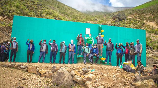 Reservorio de Yacuyurinan en Quellecancha es una realidad