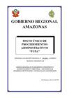 Vista preliminar de documento Texto Único de Procedimientos Administrativos - TUPA 2021