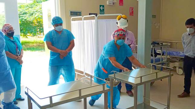 Preparan A Personal Asignado A La Atención En Nuevas Camas Hospitalarias Y Uci En El Hospital Regional De Huacho