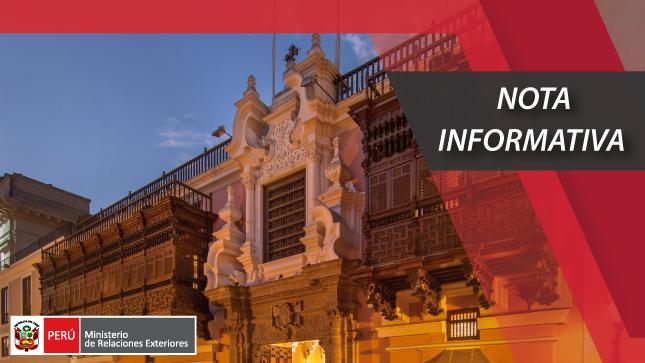 III Reunión del Mecanismo de Consultas Políticas Perú – Francia