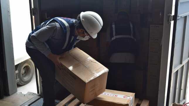 Ministerio de Salud apoya lucha contra la COVID-19 en Cusco y Huancavelica con 18 toneladas de suministros médicos