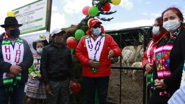 MIDAGRI coordina con autoridades de Huancavelica acciones ante heladas para fortalecer Agricultura Familiar