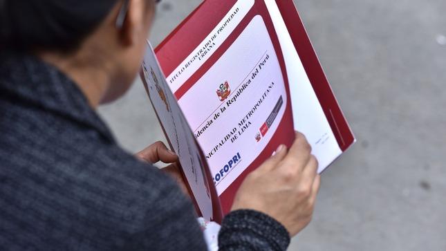 Cofopri capacita a municipalidades provinciales sobre la ampliación de plazos de titulación