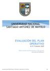 Vista preliminar de documento Evaluación del POI -Anual 2020
