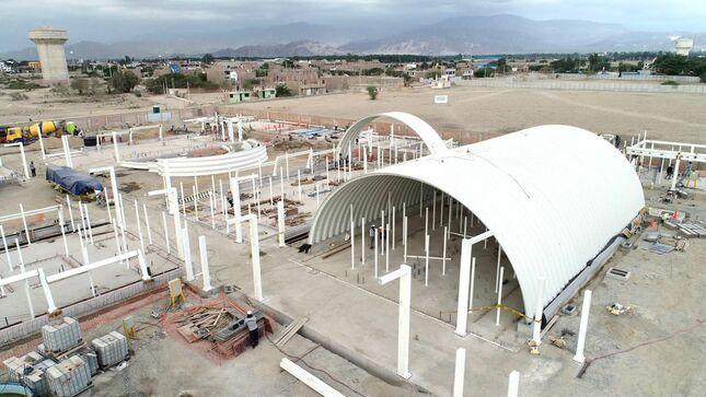 ICA: avanza construcción del primer hospital modular del país