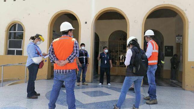 Pronis: culminan inspecciones de postores en hospitales Lorena de Cusco y Bernales de Lima
