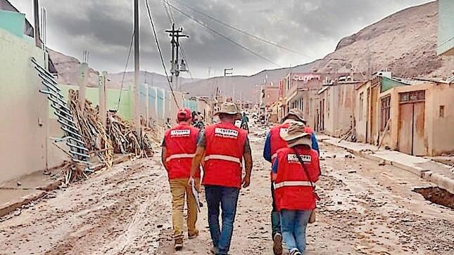Brigadas de Cofopri realizan catastro de daños en Piura tras declaratoria de emergencia por lluvias
