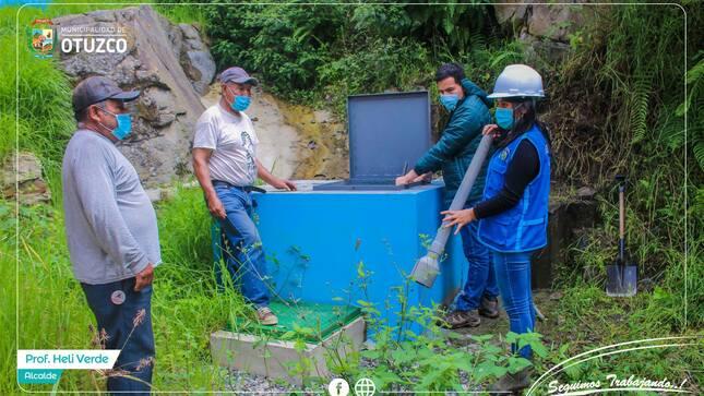 Mejoramiento del servicio de calidad del agua potable