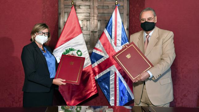 Perú y el Reino Unido renovaron su acuerdo de trabajo conjunto en materia  de Infraestructura