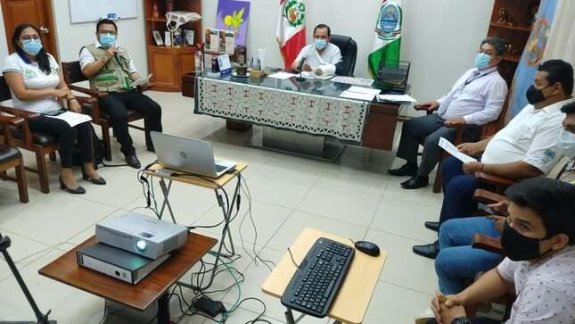 Presentacion Oficial del Sistema de Gestion de Informacion de la Direccion Regional de Agricultura de Ucayali