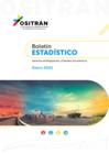 Vista preliminar de documento Boletín Estadístico del OSITRAN - Enero 2021