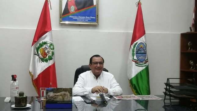 Gobernador Regional aperturo virtualmente Año Escolar del Colegio de Alto Rendimiento 2021