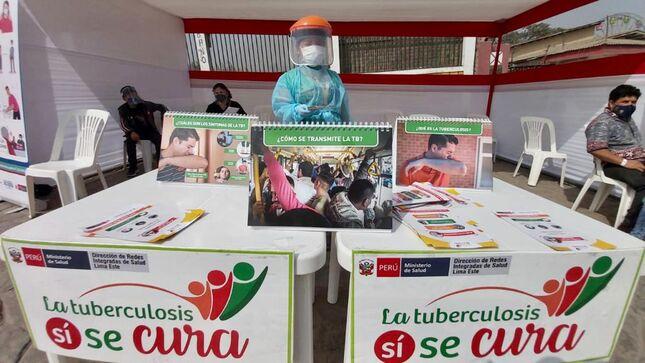 Minsa: En Mi Perú se inician actividades por el Día Mundial de Lucha contra la Tuberculosis