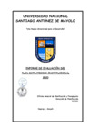 Vista preliminar de documento Informe de evaluación del PEI 2020
