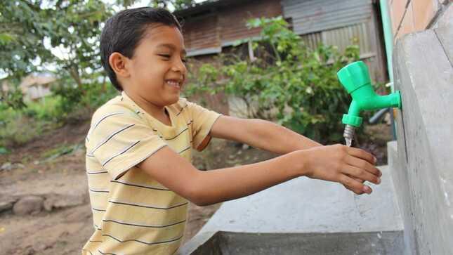 San Martín: Proyecto de agua potable del Ministerio de Vivienda redujo infecciones en población infantil