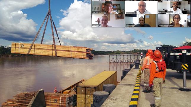 Ositrán: usuarios fueron informados del estado situacional del Terminal Portuario Yurimaguas-Nueva Reforma