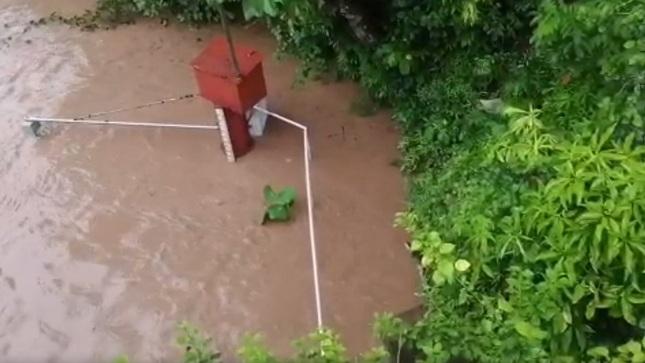 Río Mayo incrementa su caudal por lluvias