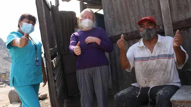 """Adulta mayor se recupera de tuberculosis extremadamente resistente: """"esta enfermedad no me pudo vencer"""""""