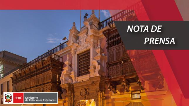 Canciller y Secretaria General Iberoamericana hacen balance de visita virtual al Perú