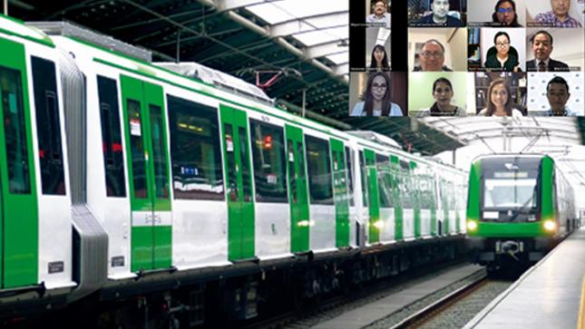 Expertos de Japón capacitan a Ositrán sobre seguridad en vías férreas y sistemas de señalización para personas con discapacidad