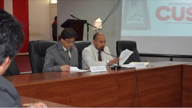 Propuesta de convenio MARCO de cooperación interinstitucional entre el MINEM y el GORE-CUSCO fue presentado